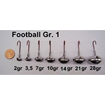 VMC Football Jigs Gr. 1