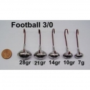 VMC Football Jig Gr. 3/0 (10 Stck)   7g