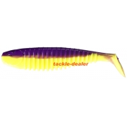 Berkley Flex Slim Shad 6 Purple Chartreuse