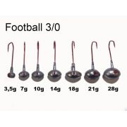 VMC Football Jig Gr. 3/0 (25 Stck) 14g