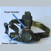 AS High Power Sensor Kopflampe