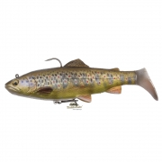 SG 4D Rattle Trout 20,5cm Dark Brown Trout