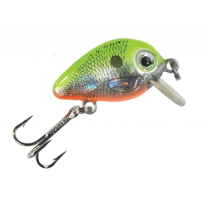 Balzer Trout Crank Drilling 2cm yellow red