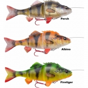 Savage Gear 4D Line Thru Perch Albino 17cm, SS