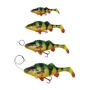 Savage Gear 4D Perch Shad 17,5cm Firetiger