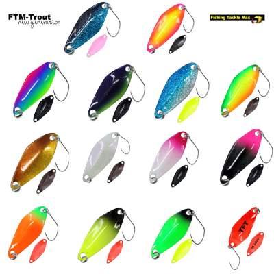 FTM Forellen Spoon Tremo 2,3g Forellenblinker Barsch Blinker alle Farben