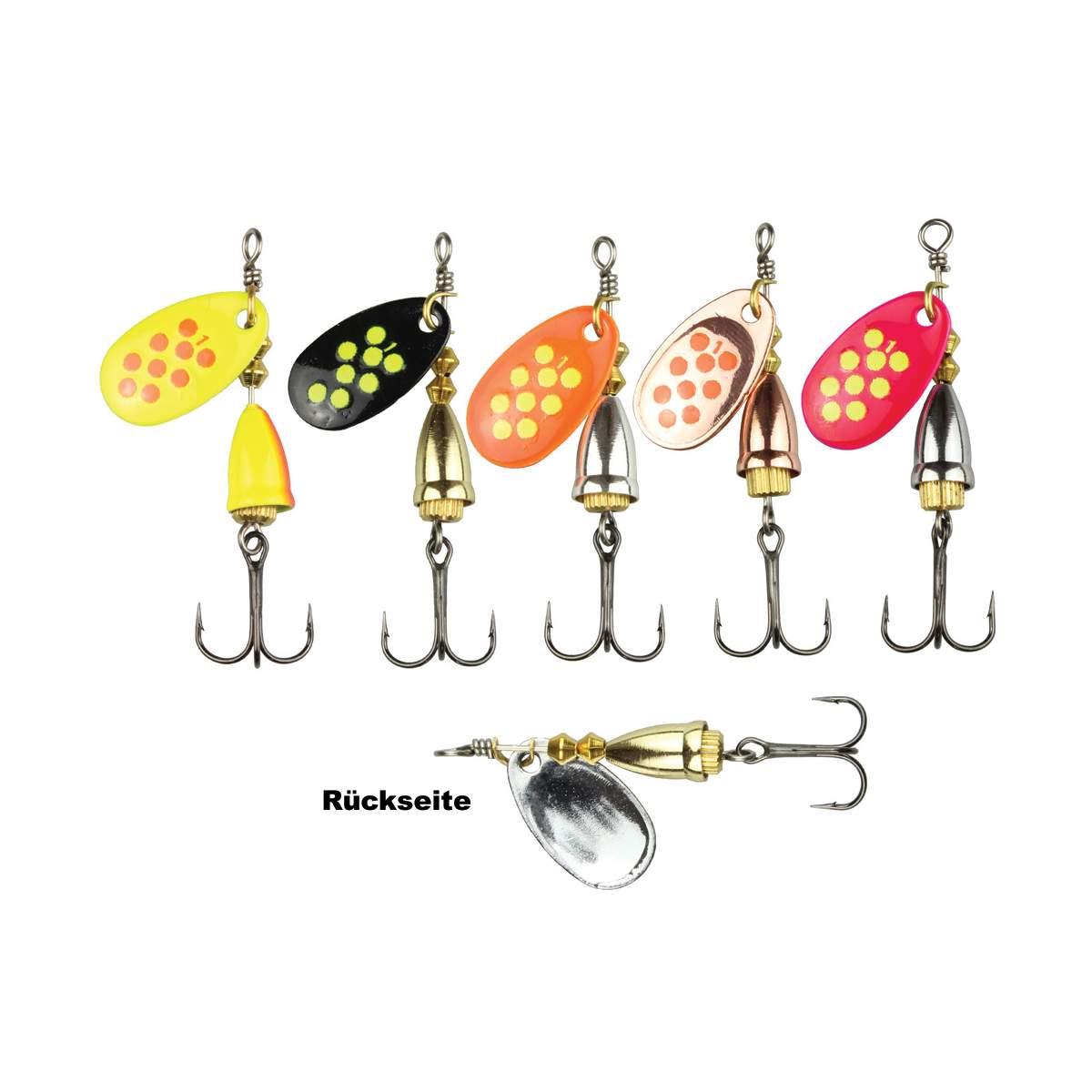 Mini Löffel Blinker 2,2 cm 1,4g Gummifische Jigs im Shop