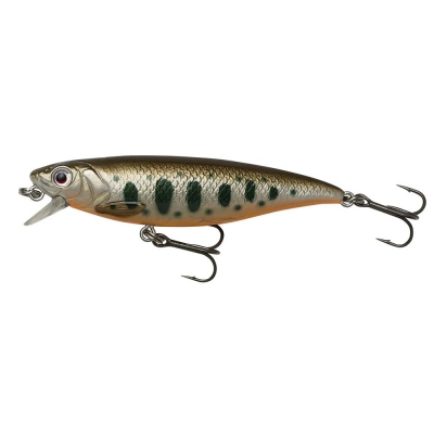 Savage Gear 3D Twitch Minnow 8,0cm Olive Smolt