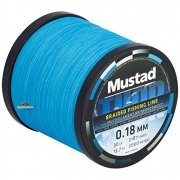 Mustad Thor Braid  Sea Blau 0,18mm (10m)
